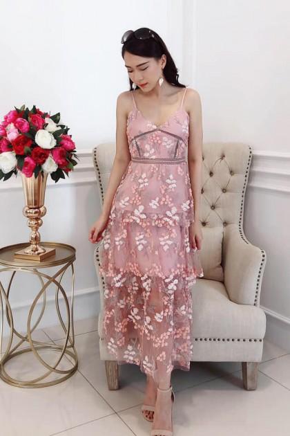 Chixxie Lena Long Dress