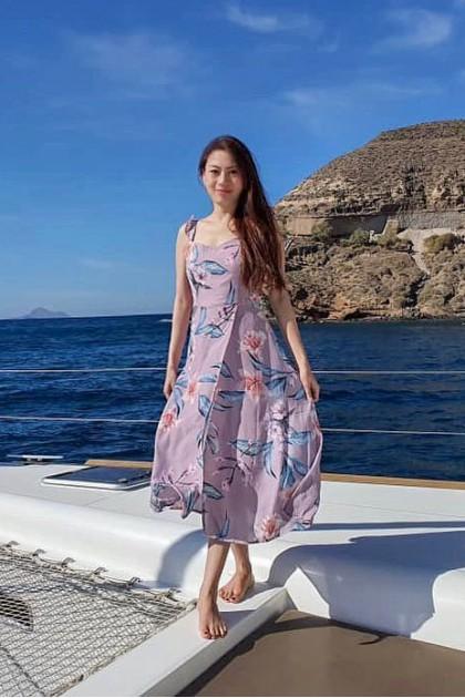 Chixxie Sasha Maxi Dress in Pink