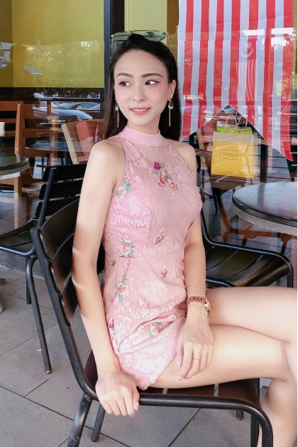 Chixxie Ceci Lace Playsuit in Pink