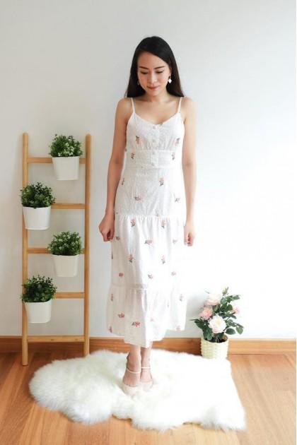 Chixxie Skye Dress in White