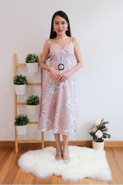 Chixxie Chrissy Dress in Pink