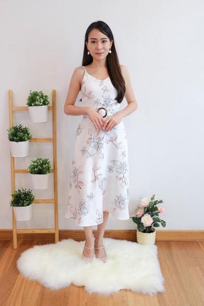 Chixxie Chrissy Dress in White