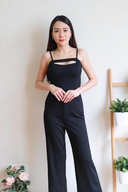 Chixxie Nora Jumpsuit in Black