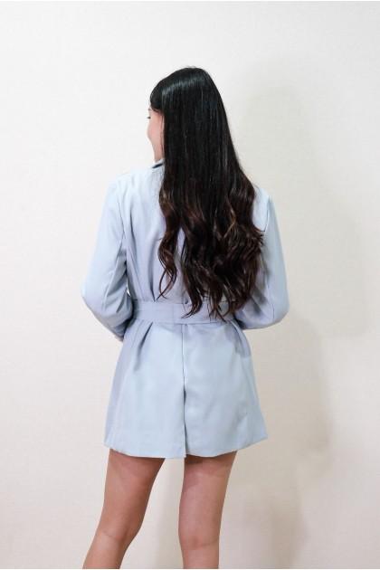 Chixxie Kendall Blazer in Blue