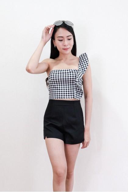 Chixxie Tiffany Checkered Crop Top