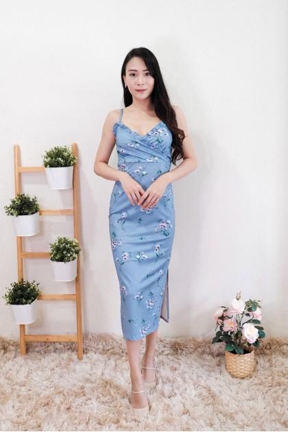 Chixxie Isabela Floral Midi Dress