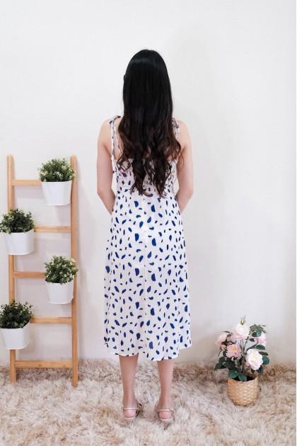 Chixxie Deborah Slit Midi Dress