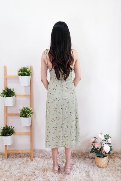 Chixxie Olivia Slit Midi Dress