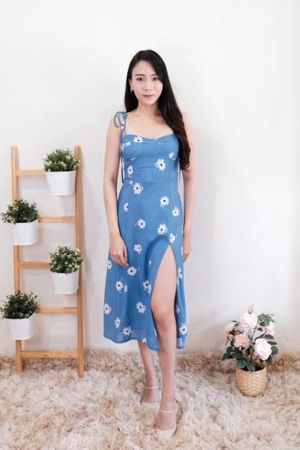 Chixxie Amelia Slit Midi Dress