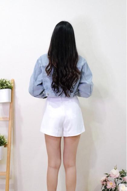 Chixxie Naomi Cropped Denim Jacket