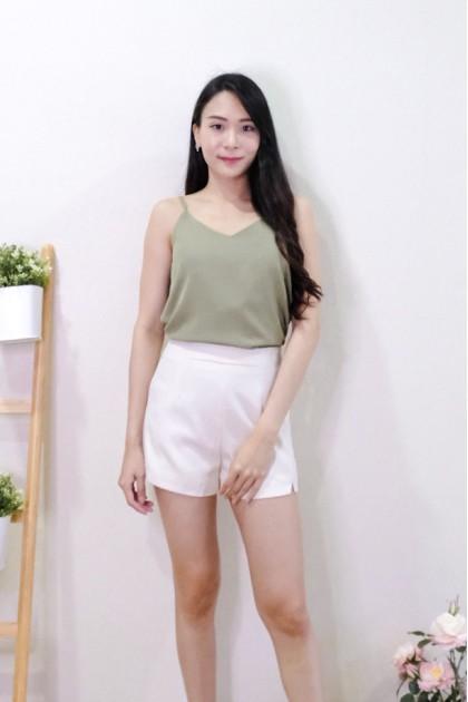 Chixxie Lyla Camisole Top in Green
