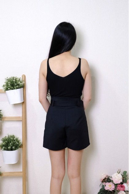 Chixxie Haisley Shorts in Black